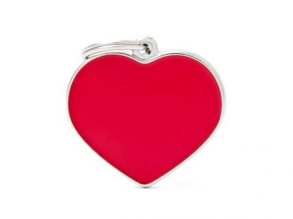 BIG-HEART-RED-Handmade-Dog-Tag
