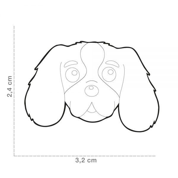 Cavalier-King-Charles-Spaniel-Dog-Tag-ID-Size