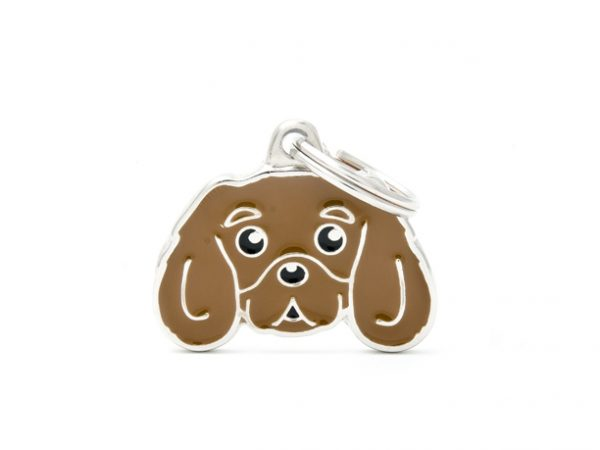 Cavalier King Charles Spaniel Ruby Dog Tag id