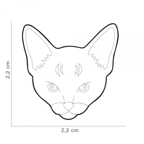 Abyssinian-Cat-Tag-ID-Size