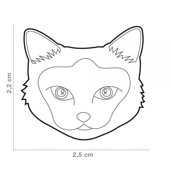 Birman-Cat-Tag-ID-Size