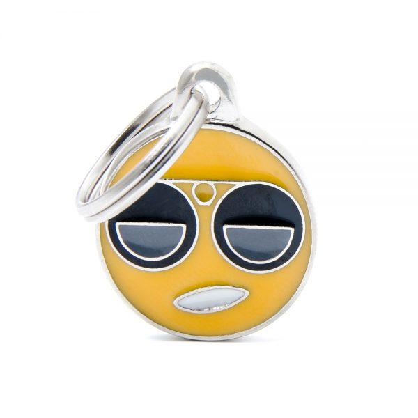 Cool Emoticon Pet Tag id