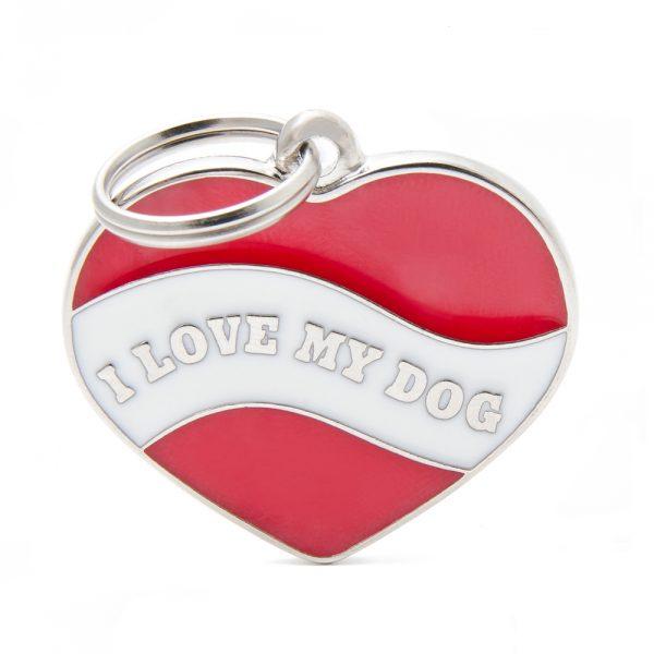 i-love-my-dog Pet Tag ID