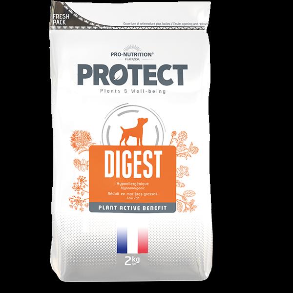 מזון לכלבים עיכול פרוטקט דיגסט 2 12 קג