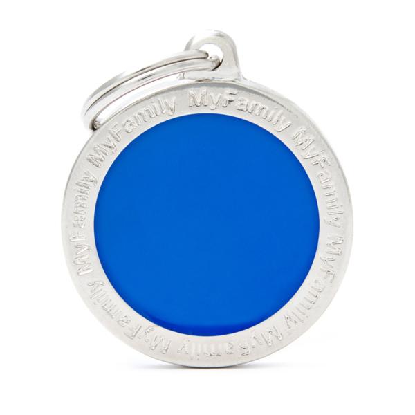 קלאסיק עיגול גדול כחול CL04