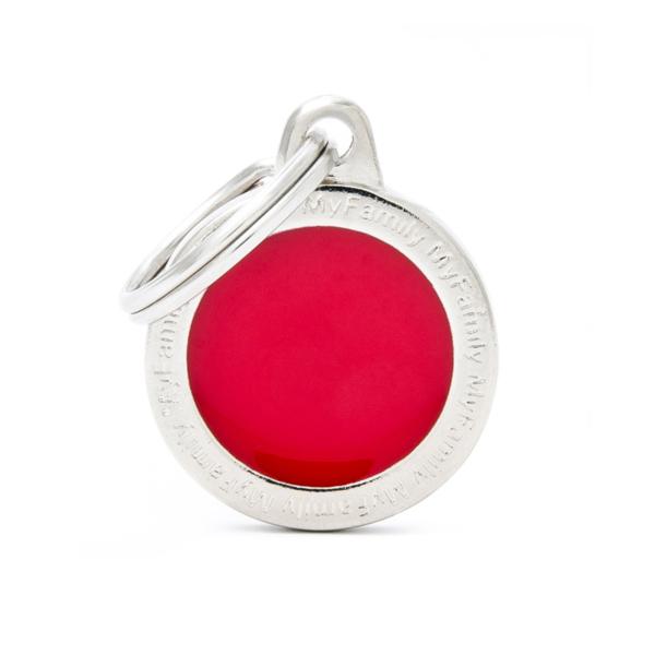 קלאסיק עיגול קטן אדום CL04