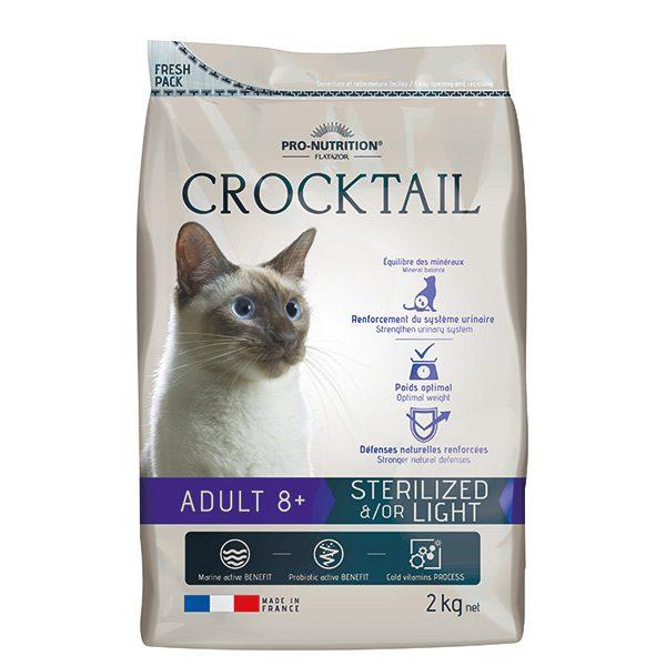 קרוקטל לייט מעוקרים 8+ במשקל 2 קג