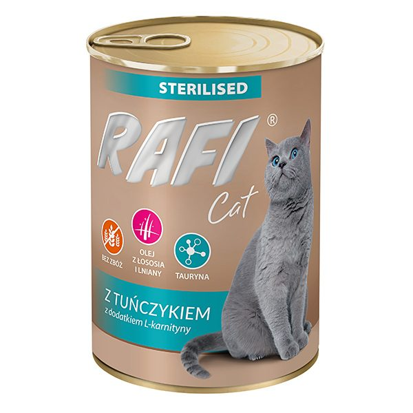 חתול מעוקר פאטה טונה 400 גרם