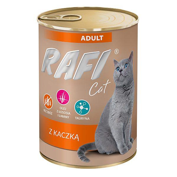 חתול פאטה ברווז 400 גרם